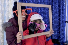 fire n ice geico photo booth